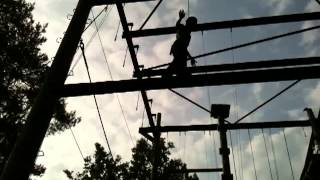 preview picture of video 'High Ropes at Center Parcs Elveden'