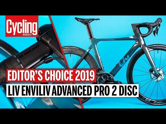 Видео Велосипед Liv Enviliv Advanced Pro 2 Disc Charcoal/Chameleon Blue
