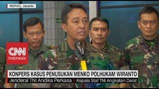 Ulah Postingan Istri Nyinyir Soal Wiranto, Dandim Kendari Dicopot & Ditahan