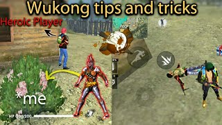 New character Wukong Gameplays,how to use wukong ability perfectly by DEATH RAIDER | Hindi Tech Room