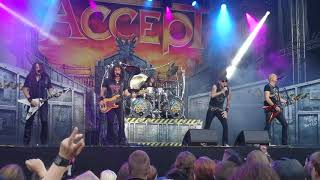 ACCEPT - Midnight Mover - South Park Festival, Tampere, Finland 9.6.2018