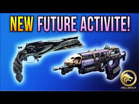Destiny 2 - NEW FUTURE ACTIVITE & QUETE DE LUMINA!  Donjon, Catalyseurs & BdF Infos