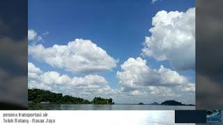 preview picture of video 'Pesona transportasi air teluk batang-rasau jaya kayong utara'