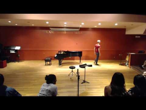 UCSB Senior Flute Recital Livestream 2015