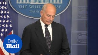 Emotional John Kelly reveals how he was told his son was killed - Daily Mail