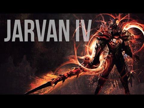 Wallpaper in Photoshop - League of Legends (Jarvan IV speedart)