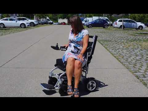 faltbarer Elektro-Rollstuhl FreedomChair
