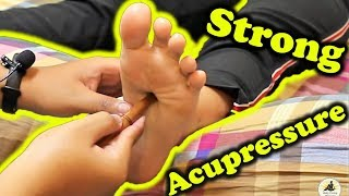 ASMR Relaxing Pressure Foot Massage - Acupressure Stick