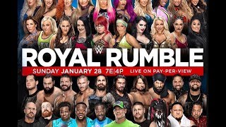 WWE Royal Rumble 2018 PREVIEW & PREDICTIONS :: Who Should Win The Men & Women's Rumbles!?