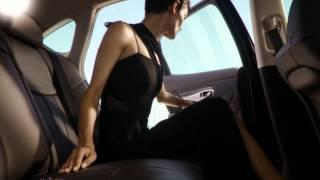 Infiniti Q70L – Rear Cabin Comfort: A Glimpse