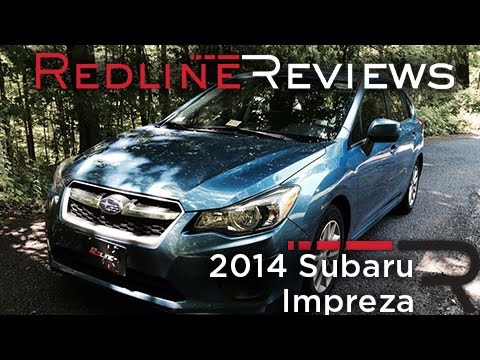 2014 Subaru Impreza Review, Walkaround, Exhaust, & Test Drive