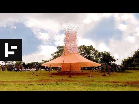 ВИДЕО: Оваа кула од бамбус чини само 1.000 долари, а прави чиста вода од воздухот