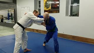 Breaking the two-on-one grip