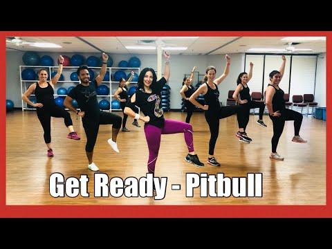 Get ready (feat.Blake Shelton) Pitbull - Zumba Dance II Danielle's Habibis