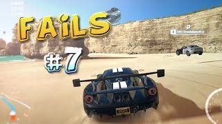 Racing Games FAILS Compilation #7