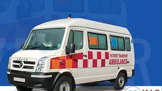 Get Low-Cost ICU Emergency Ambulance Service in Ranchi and Jamshedpur
