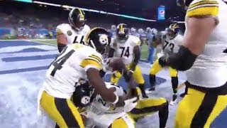 Pittsburgh Steelers Le'veon Bell Touchdown Celebration (Bench Press)