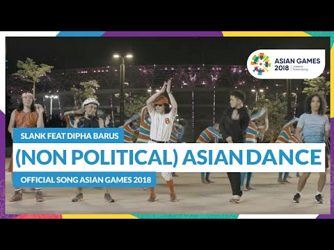non political  asian dance   slank feat dipha barus   official song asian games 2018