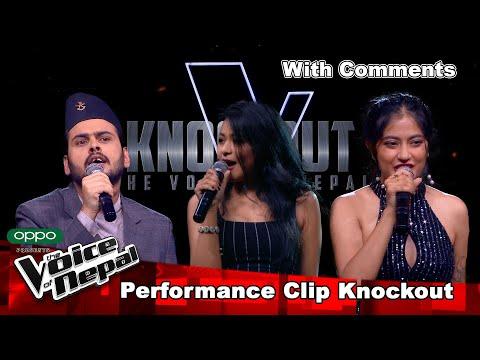 Utsav Vs Deeksha Vs Niharika | With Comments | Knockout |The Voice of Nepal Season 3 - 2021