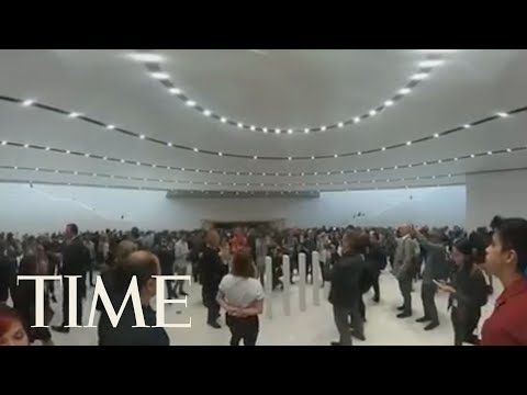 Apple Enthusiasts Patiently Await iPhone & Watch Announcements: Be In The Crowd | 360 Video | TIME