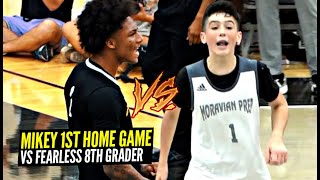 Mikey Williams vs Isaac Ellis Got HEATED!! FEARLESS 8th Grader Drops 30 vs Vertical Academy!!