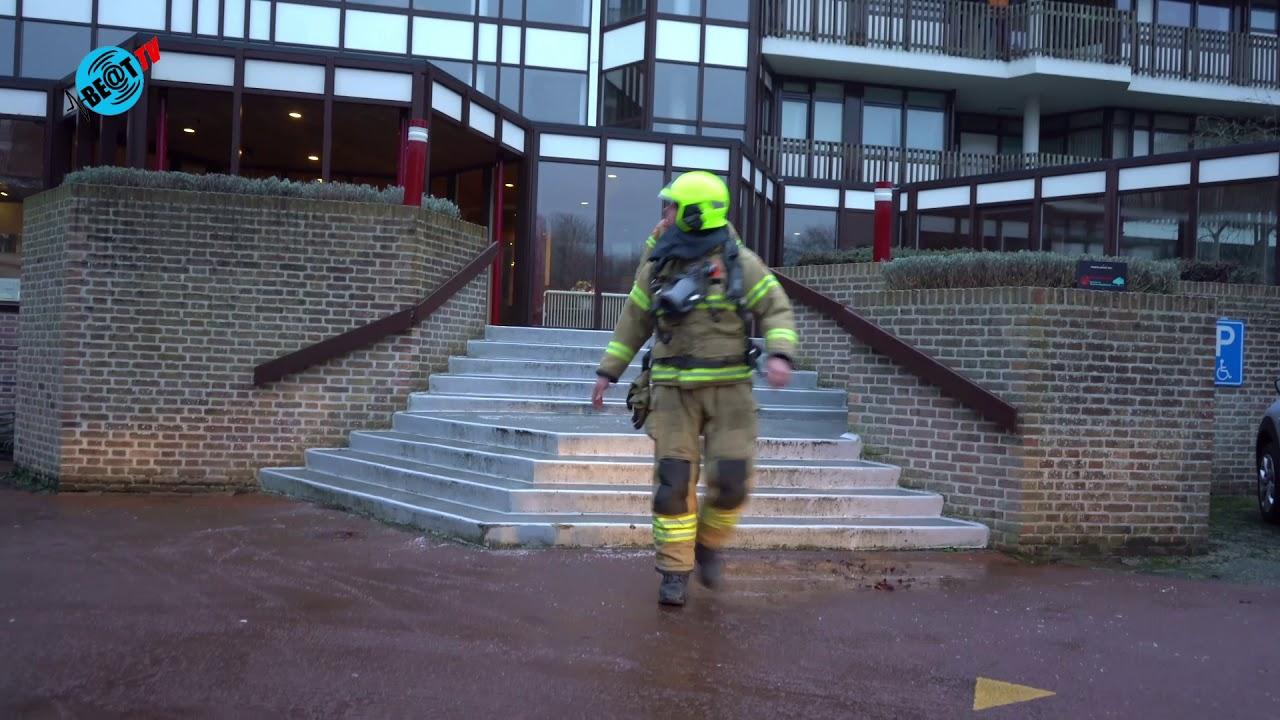 Grote brand in appartementencomplex aan Zeeweg in Heiloo (1 februari 2021)