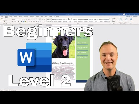 Microsoft Word Tutorial - Beginner's Level 2 (With Tips and Tricks)