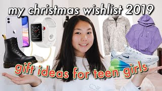 My Christmas Wishlist 2019 // GIFT GUIDE FOR TEEN GIRLS