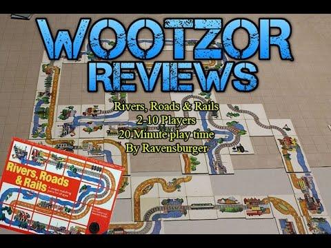 Team Wootzor reviews Rivers, Roads and Rails!