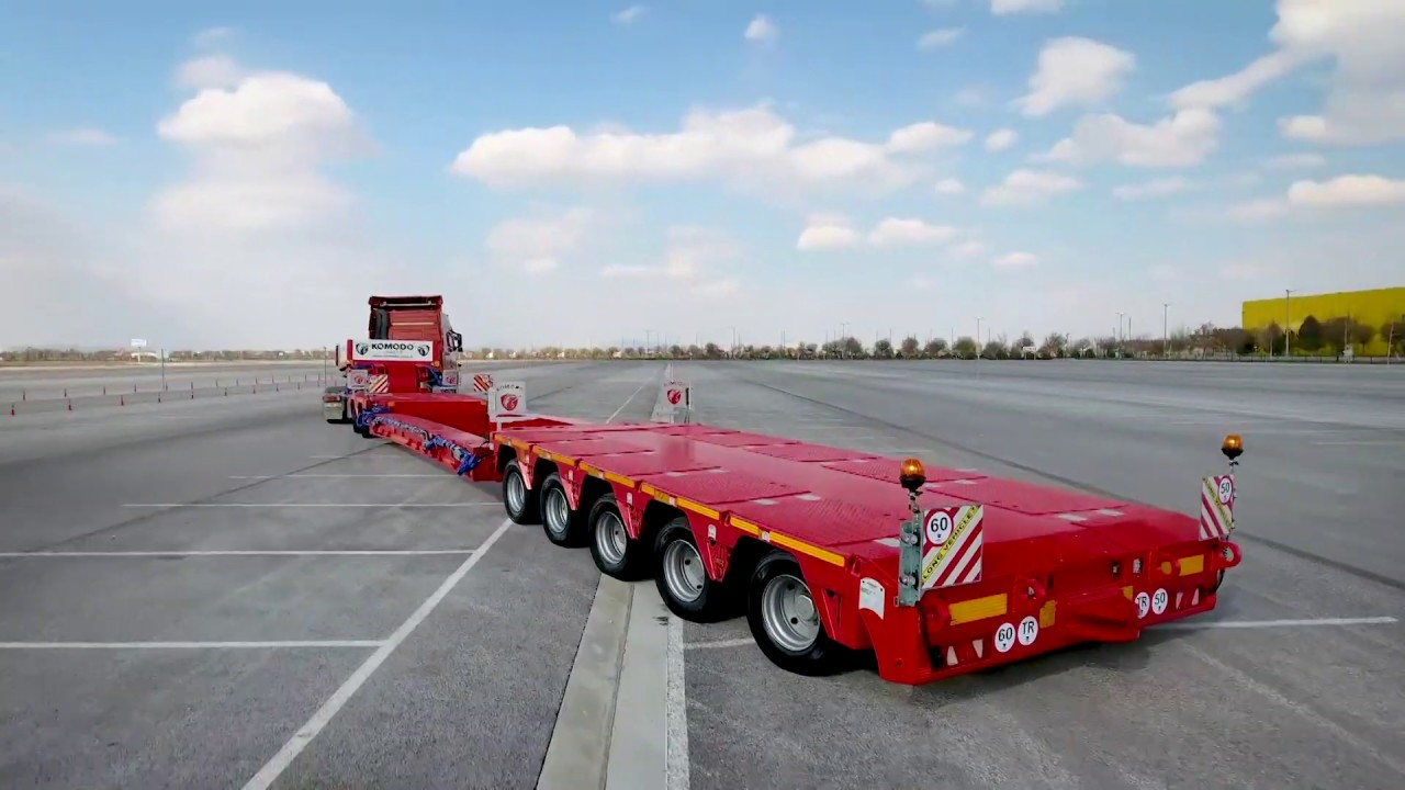 5+2 Axle Modular Chassıs – Dls System Lowbed Semi