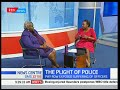 News Centre: Pay row exposed suffering of police officers