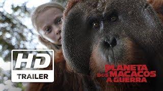 Planeta dos Macacos: A Guerra | Trailer Oficail 3: Liberdade
