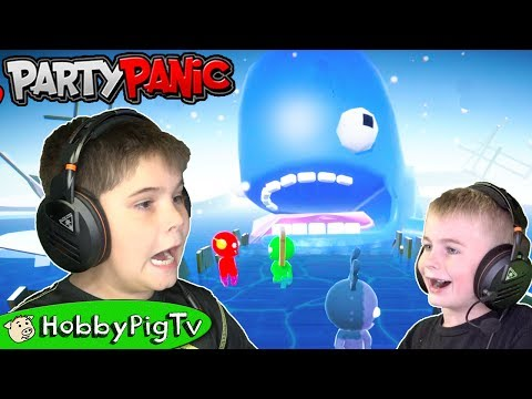 Party Panic Multiplayer PC Gaming HobbyPigTV