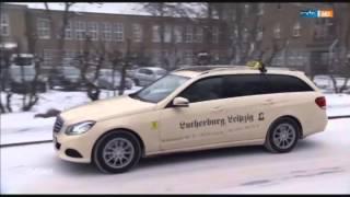 Sachsen Steuerbürger zahlen für Flüchtlinge, mit dem Taxi.