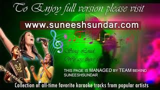 Husn hai suhana karaoke with synced lyrics add - YouTube