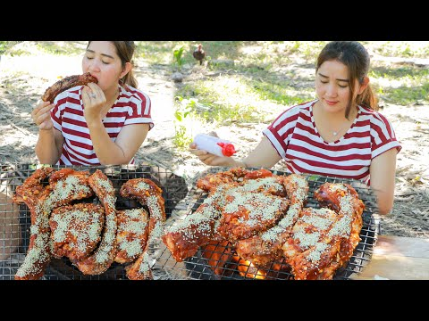 Yummy Pork Ribs BBQ Cooking Recipe – Cooking With Sros