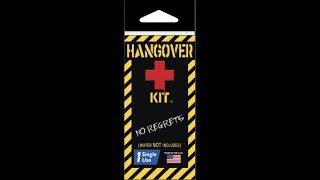 Hang Over Kit by Potty Pack - Review, opening and testing