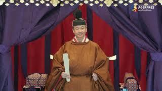 Ceremonia oficială de întronizare a împăratului Japoniei Naruhito