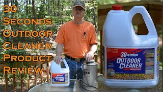 30 Seconds Outdoor Cleaner Product Review