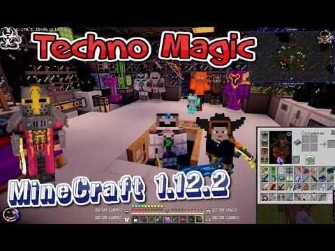 Техно Магическая сборка MineCraft 1.12.2