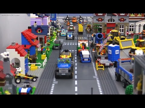 OLD Video! Updates on my channel! Second LEGO city layout