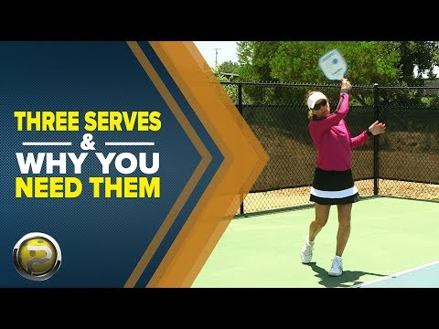 Three Types of Serves