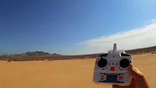MJX X101 Drone Loss of Signal Test