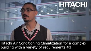 #3 Hitachi Air Conditioning Best Combination Products : Solution - Hitachi