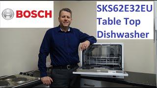 Bosch SKS62E32EU Table Top Dishwasher Demonstration