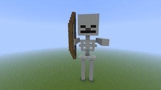 как сделать скелет в майнкрафт