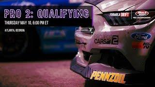 Formula Drift Atlanta - Pro 2 Qualifying LIVE!