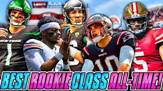 USING EVERY ROOKIE QB TO SEE WHO IS THE BEST…
