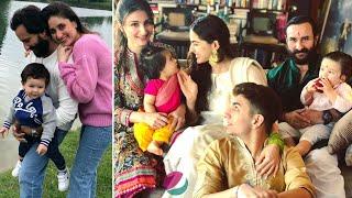 Saif Ali Khan Family Members with Wife, Daughter Sara, Sons Ibrahim, Taimur, Sisters & Biography