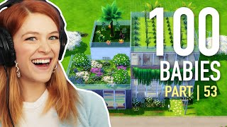 Single Girl Chooses A Fan's House For Her Babies In The Sims 4   Part 53